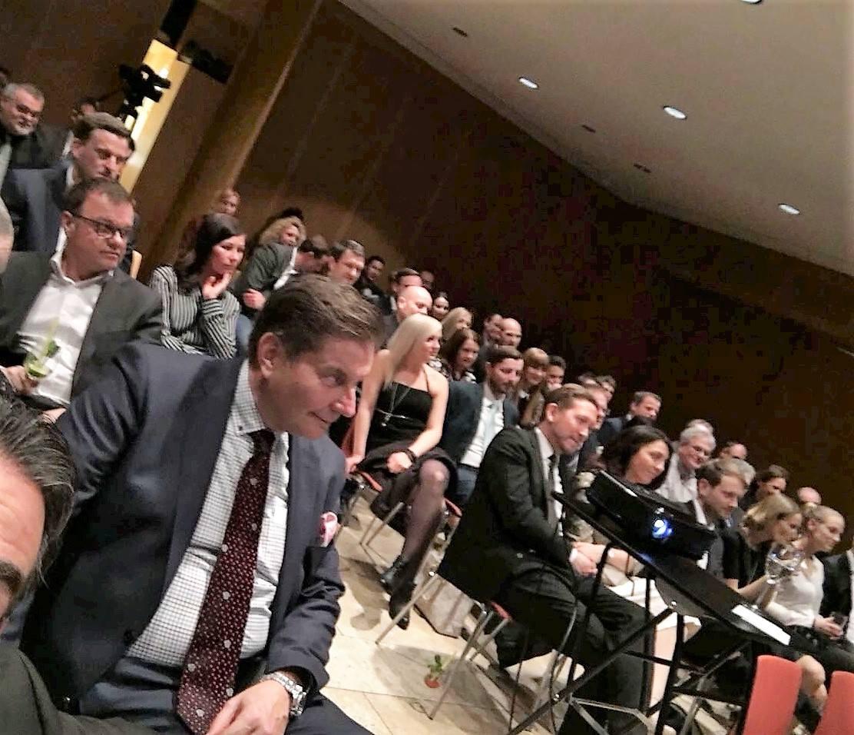 Die zahlreichen Ehrengäste erfuhren viele spannende und interessante Details aus der Unternehmensgeschichte der BSC, in einem kurzweiligen Vortrag des Geschäftsführers Christian Schwalb.