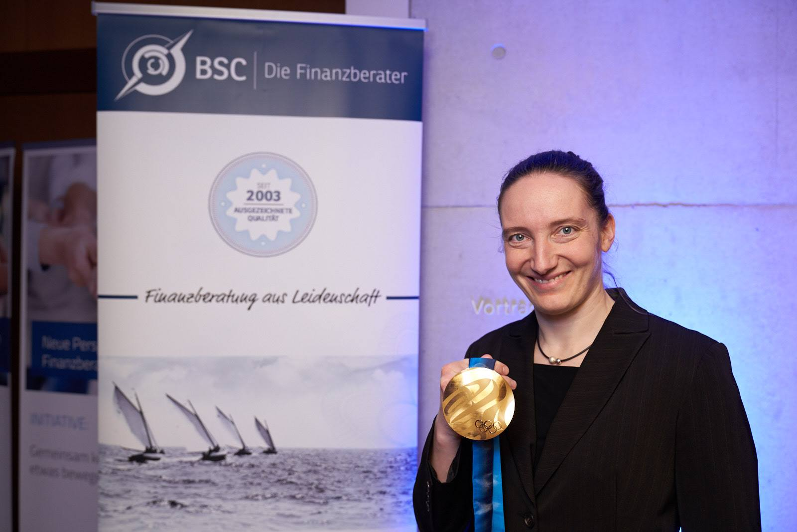 Langjährige BSC-Kundin und Olympiasiegerin im Rennrodeln: Tatjana Hüfner