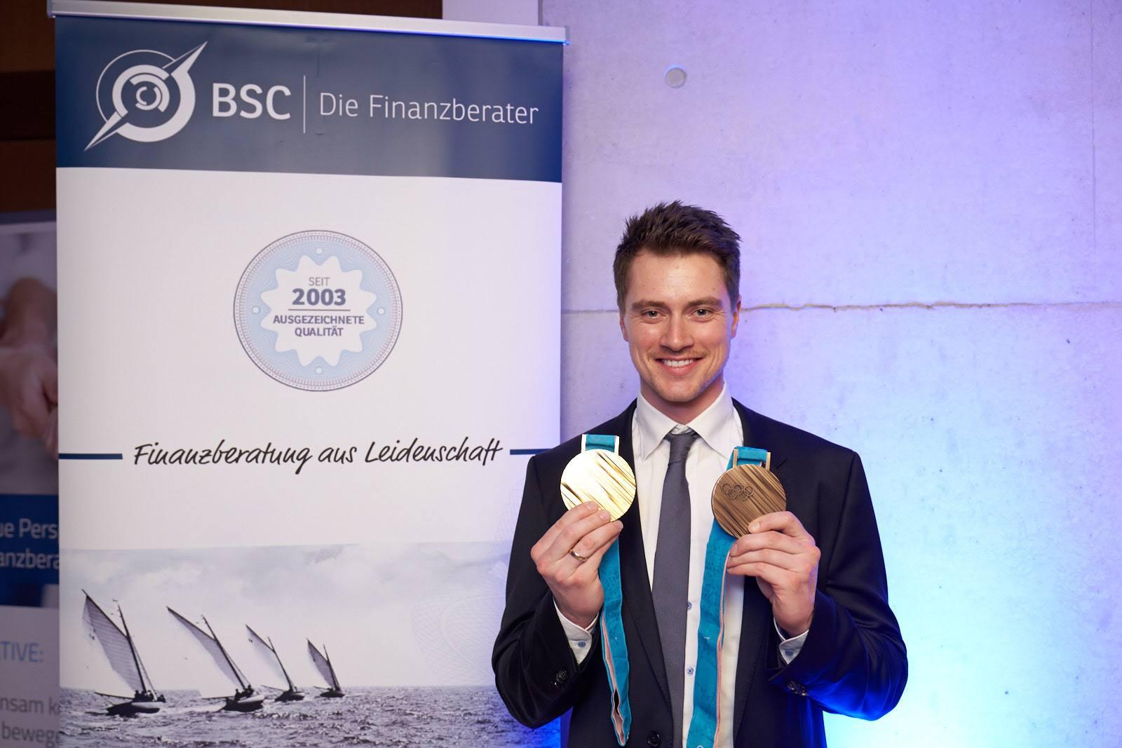 Langjähriger BSC-Kunde und Olympiasieger im Rennrodeln: Johannes Ludwig