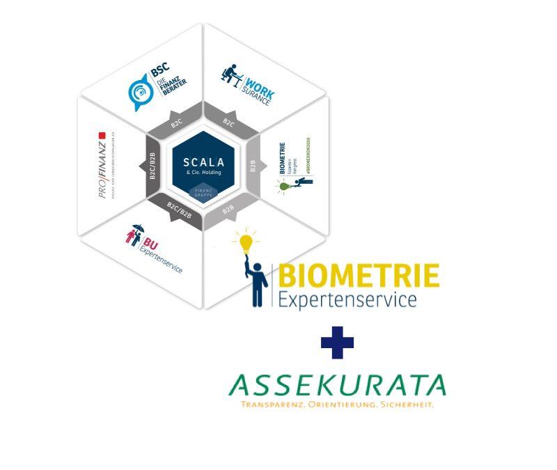 Biometrie Expertenservice und Assekurata